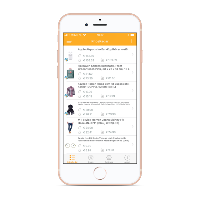 PriceRadar-iOS