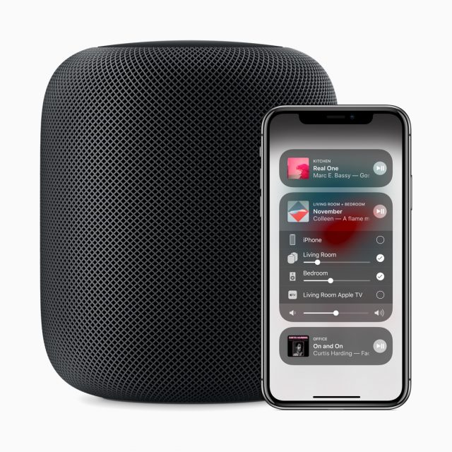 AirPlay 2 speakers: HomePod