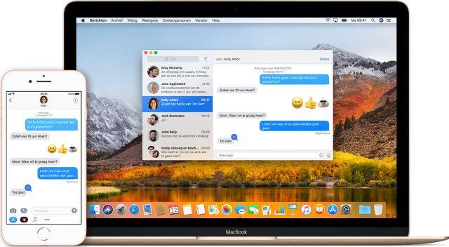 Berichten MacBook & iPhone 8