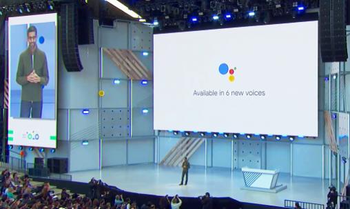 Google Assistant telefoongesprek