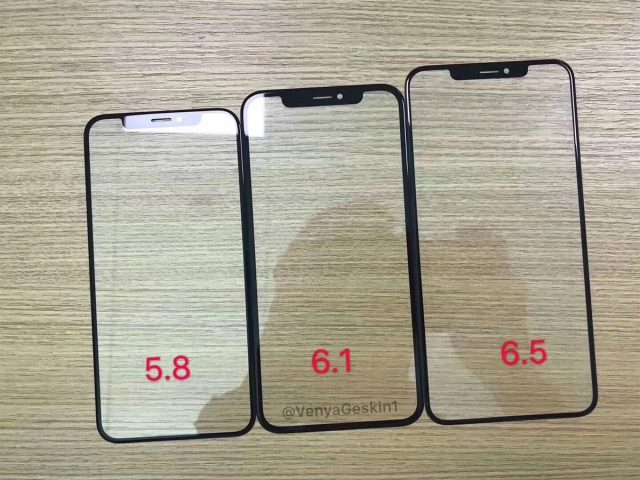 iPhone 2018 frontjes