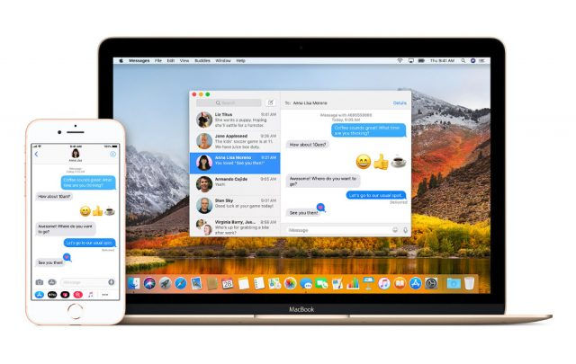 iMessage in iCloud