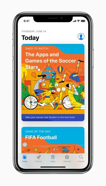 App Store WK-voetbal