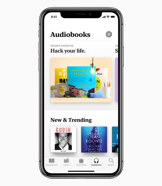Apple Books audioboeken