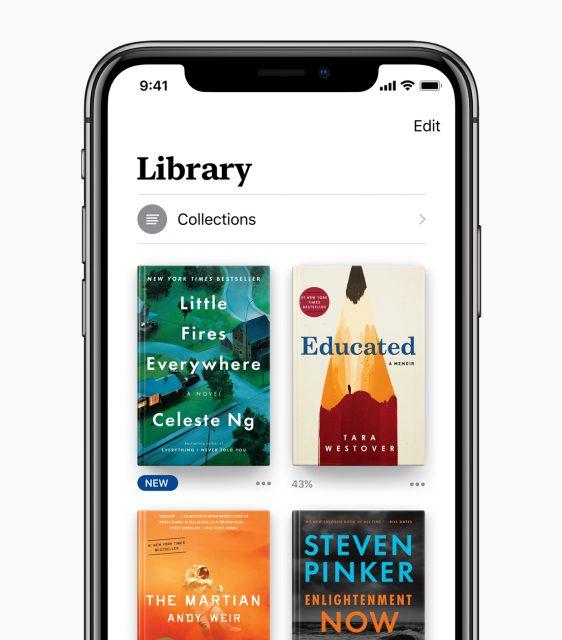 Apple Books bibliotheek