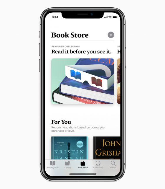 Apple Books book store