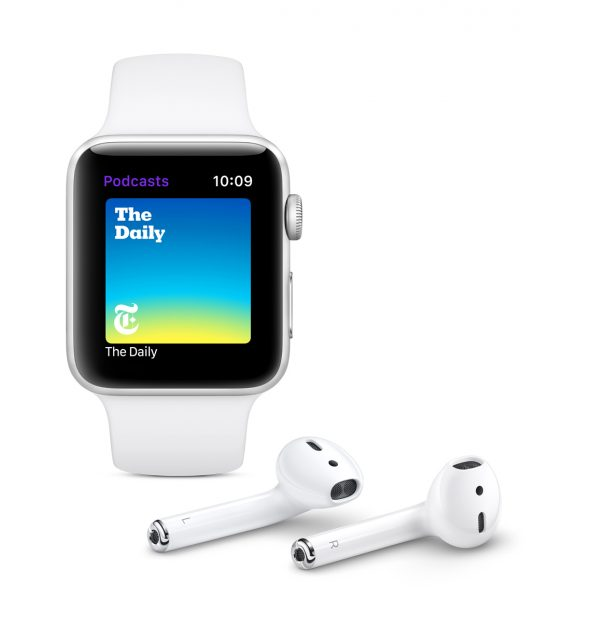 watchOS 5 Podcasts