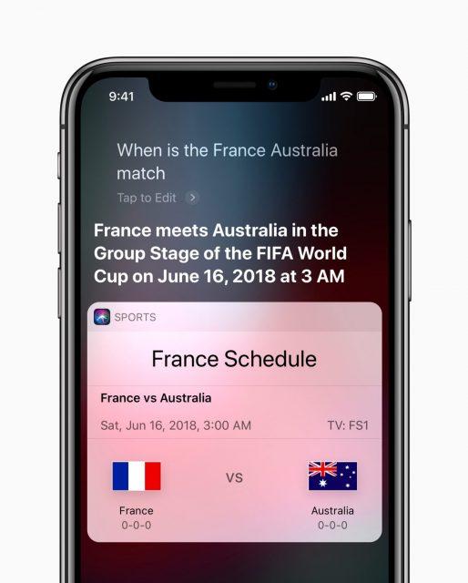 Siri WK-voetbal