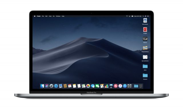 macOS Mojave donkere modus sneakpreview