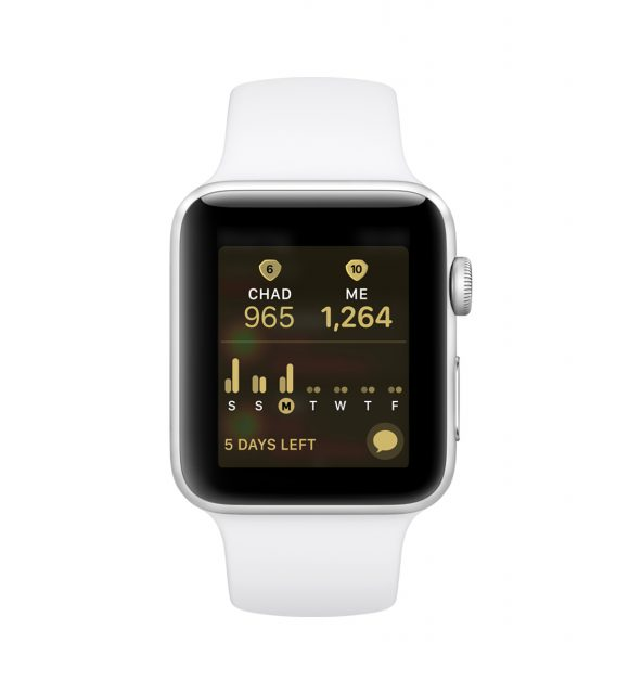 watchOS 5 Competitie