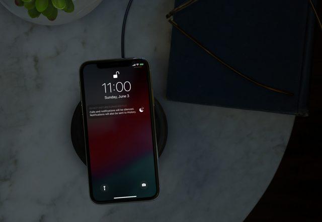 iOS 12 Niet storen nachtmodus