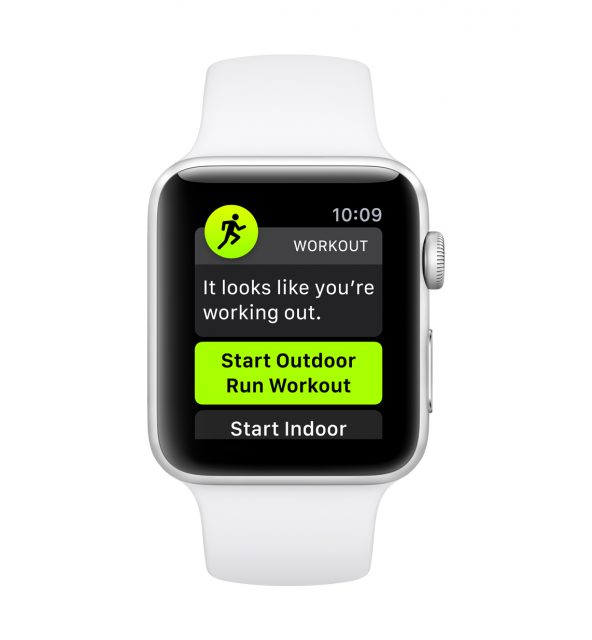 watchOS 5 Work-out