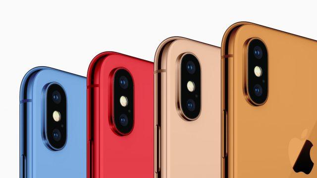 kleuren iPhone 2018