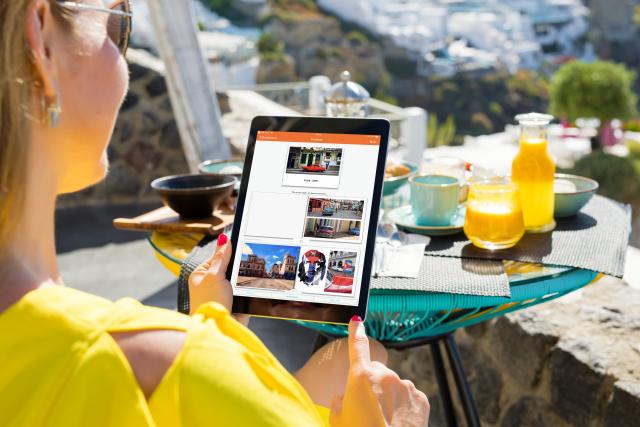 vakantiefotoboek iPhone of iPad