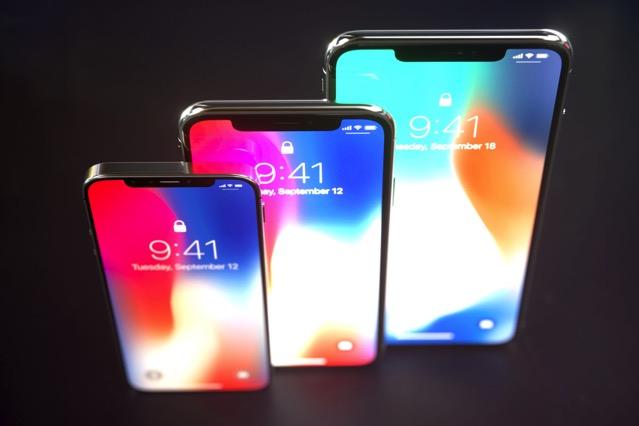 drie nieuwe iPhones