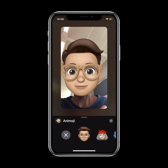 Memoji in FaceTime