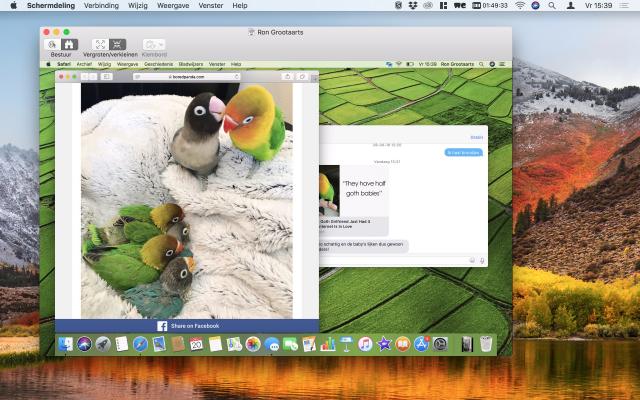 Schermdeling Mac
