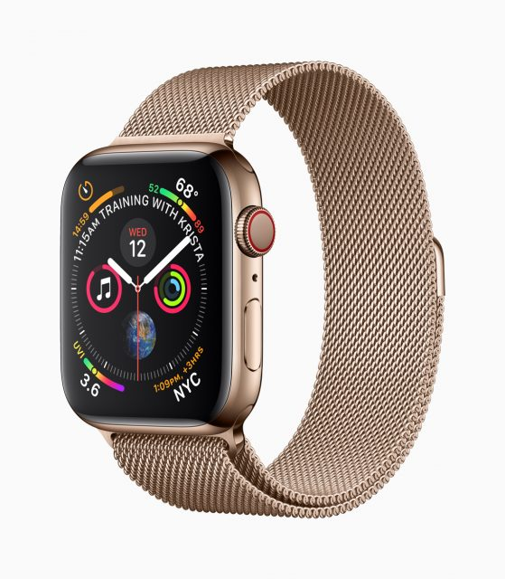 Apple Watch 4 fitness