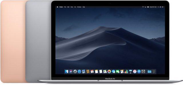 MacBook Air vergelijk