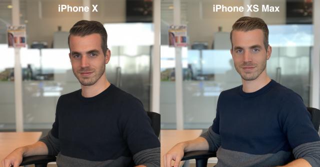 iPhone XS beautyfilter