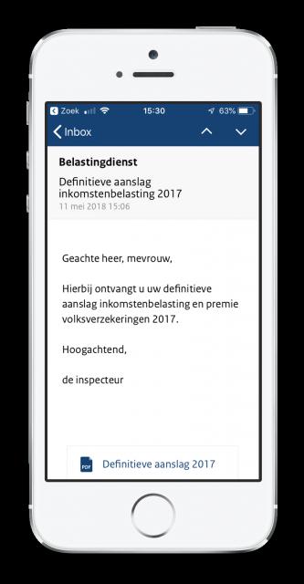 Berichtenbox app Mijnoverheid