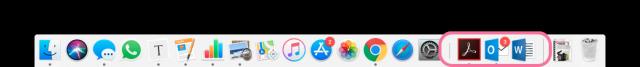 Dock macOS Mojave