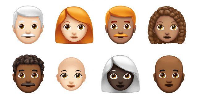 emoji rood haar