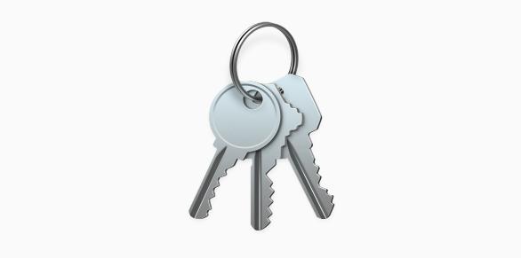 iCloud-sleutelhanger Wachtwoord automatisch invullen
