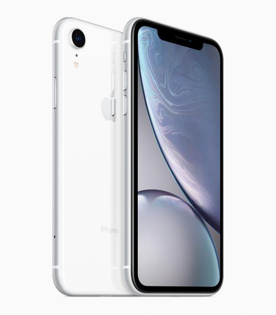 iPhone XR groot scherm