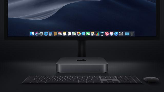 Mac mini 2018 zwart