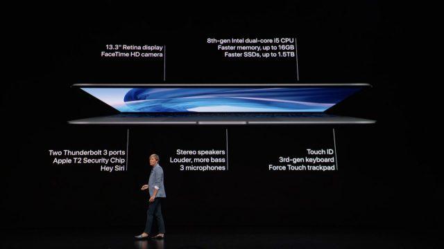 MacBook Air 2018 specs