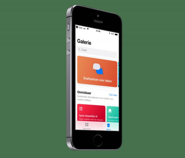 Opdrachten iOS 12