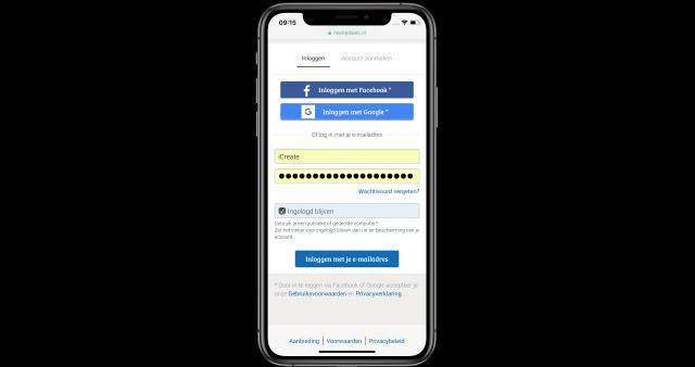 Safari wachtwoord automatisch invullen