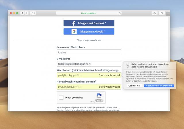 wachtwoord automatisch genereren