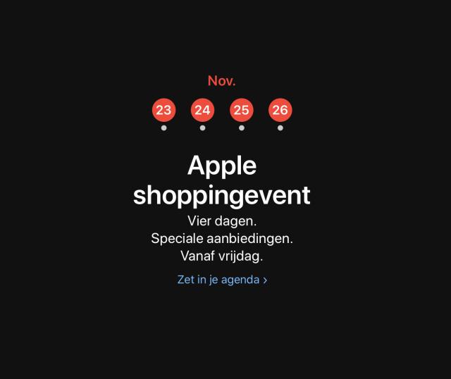 Black Friday Apple 2018