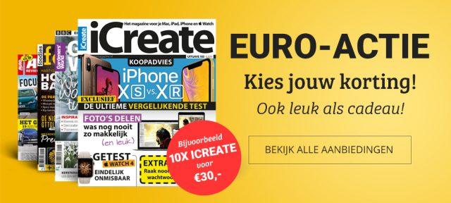 iCreate Euro-actie