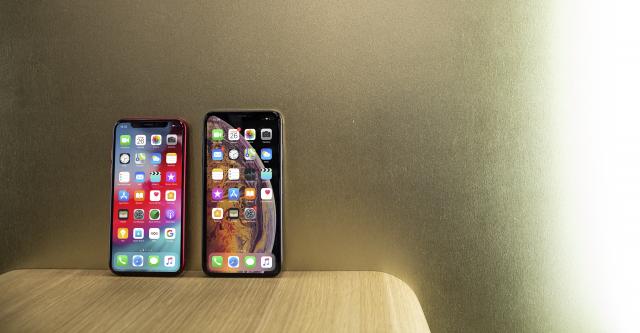 iPhone XS en iPhone XR