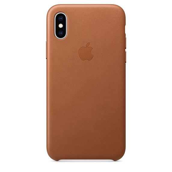 leren hoesje iPhone XS