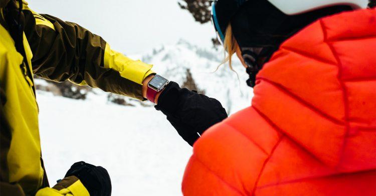 Wintersport apps Apple Watch
