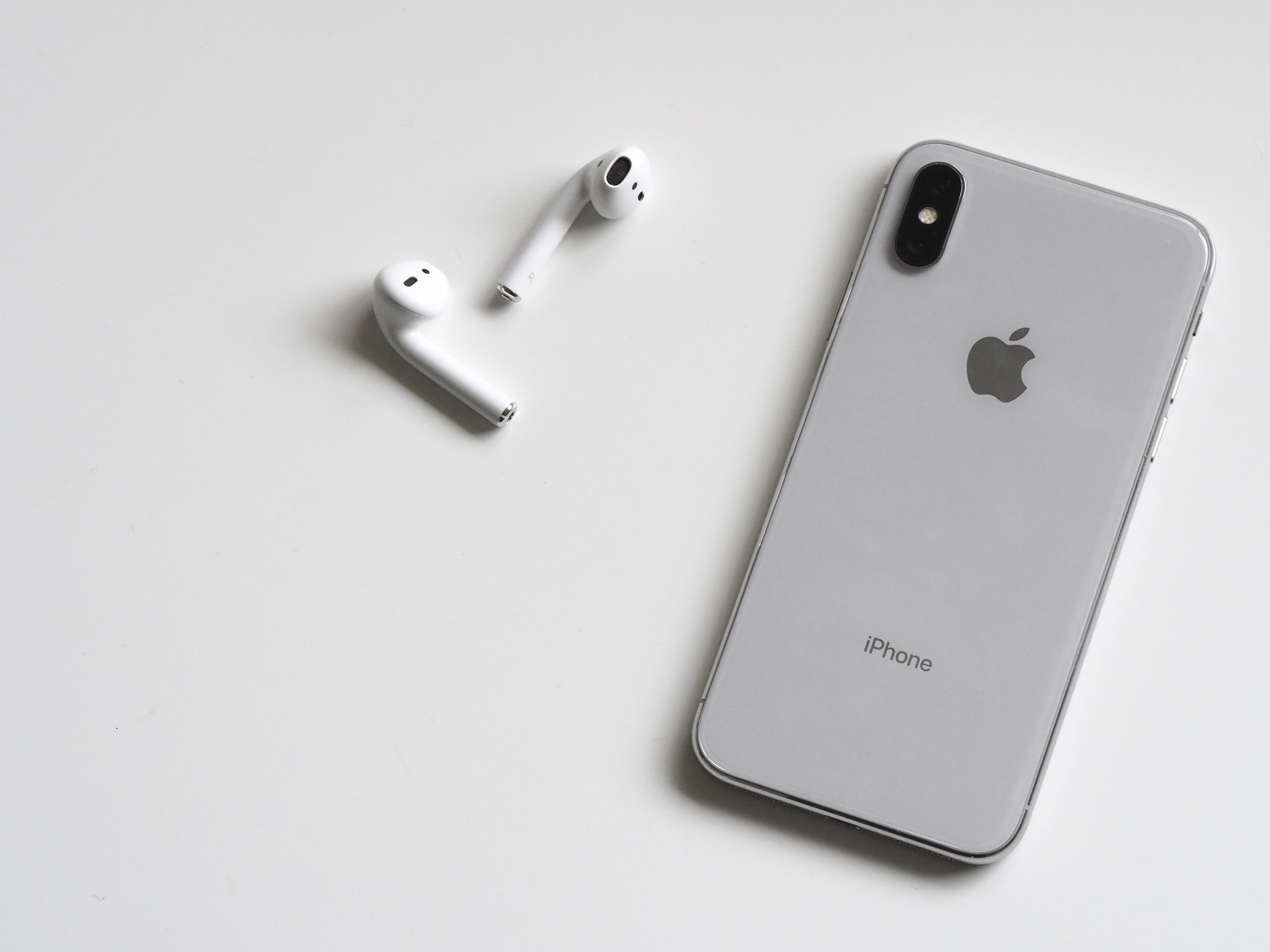 u aansluiten microfoon op de iPhone