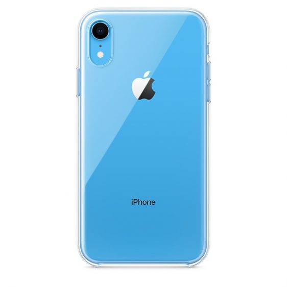 doorzichtig hoesje iPhone XR