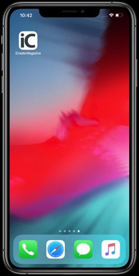 Website op beginscherm iPhone