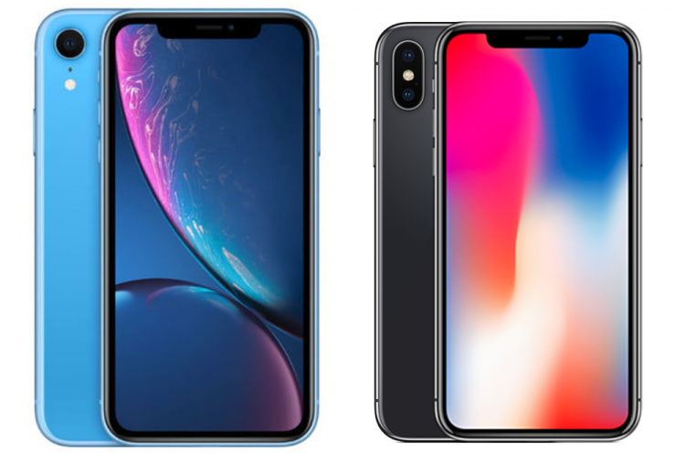iPhone XR of iPhone X