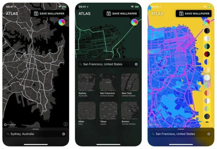 Altas-Wallpaper-app