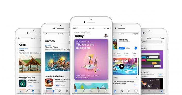 Apple universele apps