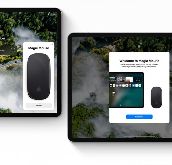 iOS 13 concept magic mouse