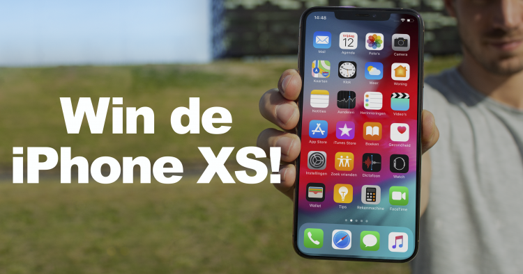iPhone xs winnen