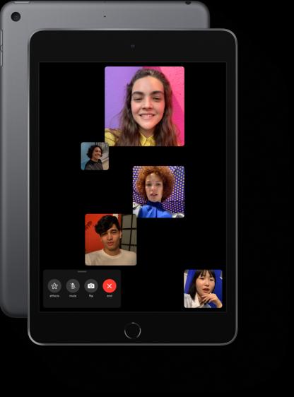 iPad mini Facetime