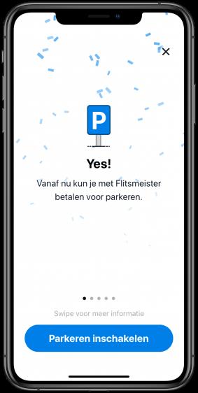 Flitsmeister betaald parkeren