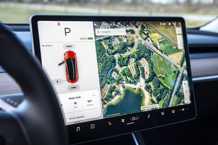 Tesla Model 3 scherm